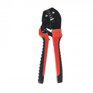 Adler crimping tool for cable compression sleeves