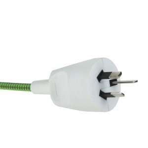 Rewirable plug white 3-pins Australia