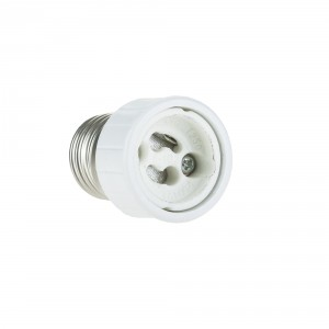 Adaptor E27 to GU10, for GU10 bulbs