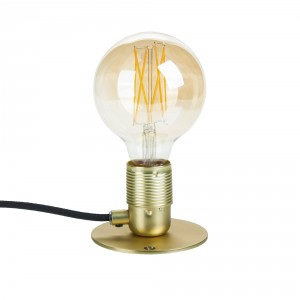 Light Essentials golden wall lamp