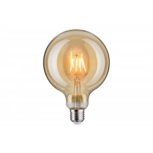 Paulmann LED globe filament Ø125mm 6.5W E27 gold/clear