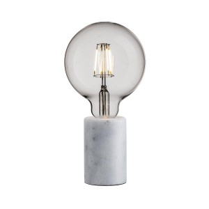 Nordlux 'Siv' table lamp white marble Light Essentials