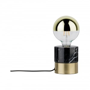 Table lamp 'Vala' marble/ brass Light Essentials