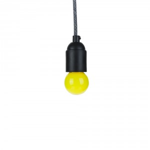 Calex yellow LED bulb 1W E27