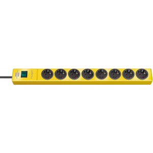 Hugo! power strip 8v Yellow Light Essentials