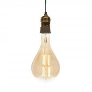 LED GIANT 'Splash' gold E40 dimmable Light Essentials