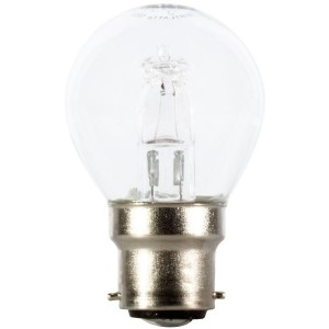 Halogen light bulb B22 28W (40W) Ball light essentials