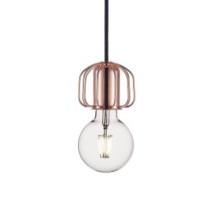 'Askja' socket/pendant system copper Light Essentials