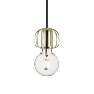 'Askja' socket/pendant system brass Light Essentials