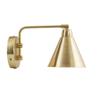 "House Doctor wall fixture ""Game"" brass"
