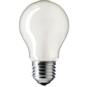 Incandescent bulb matte E27 40W Light Essentials