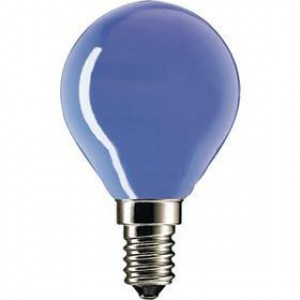 blue light bulb 15W