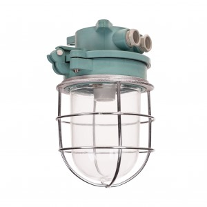 'Raw' green ship lamp XL E27 - ceiling model