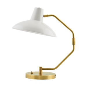 "House Doctor table lamp ""Desk"" grey/brass"