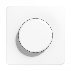 Jung single dimmer switch - white Light Essentials