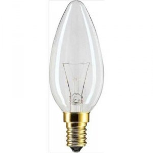 Philips candle bulb 15W clear Light Essentials