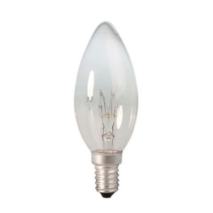 Clear candle bulb 10W E14 Light Essentials