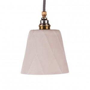 Porcelain lampshade argyle - short Light Essentials
