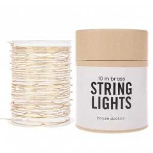 String lights brass Light Essentials