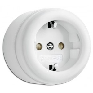 Duroplast power outlet