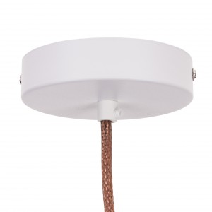 Round ceiling rose white Light Essentials
