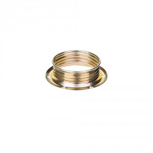 E14 brass socket ring with male thread light essentials