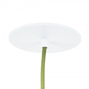 Dopop flat ceiling rose whit