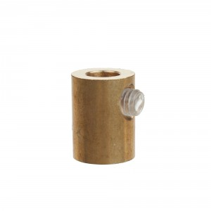 Brass cord grip with inner thread