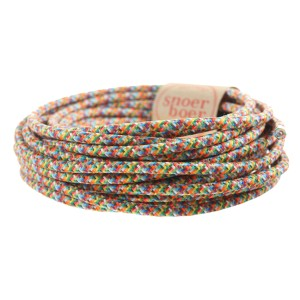 colored cable fancy fair confetti