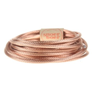 metal braided cord Snoerboer