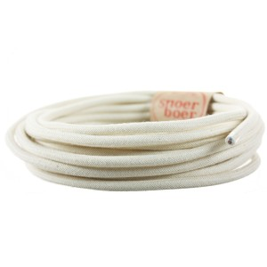 Snoerboer Naturals: Cotton fabric cable