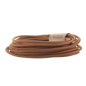 Mocca colored cable light essentials
