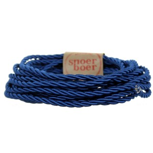 snoerboer colored cable torcido blue light essentials