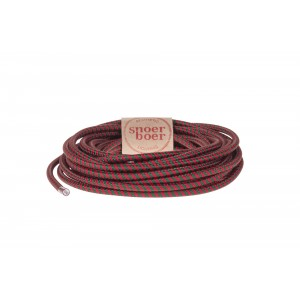 Snoerboer fabric cable red green Light Essentials