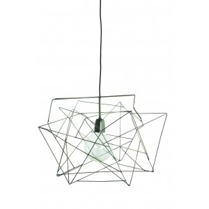 """House doctor wire lamp shade """"Asymmetric"""" silver Light Essentials"""