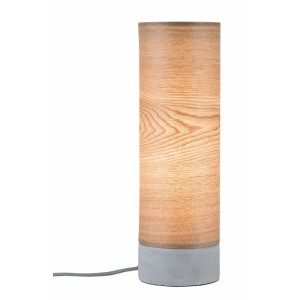 Table lamp 'Skadi' wood and concrete Light Essentials