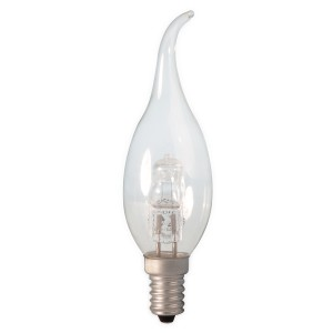 Calex energy saving halogen candle lamp with tip E14 28W (37W) Light Essentials