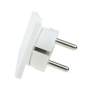 Ultra flat EVOline plug white light essentials