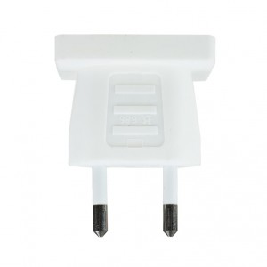 Adaptor US-plug to Europe-plug
