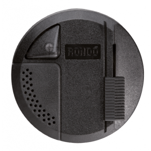 Led floor dimmer with fader and toggle switch - black Light Essentials