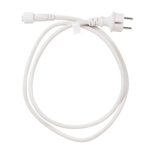 Power cable 1,5m for connectable string lights - white Light Essentials