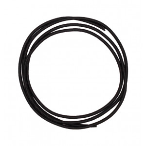 Black fabric cable 2m