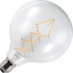 deco led globe zigzag