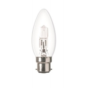Halogen candle bulb B22 18W Light Essentials