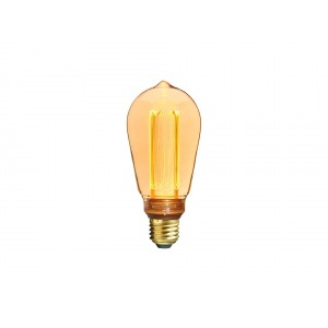 Sylvania ToLEDo Mirage LED 2.5W gold - Edison