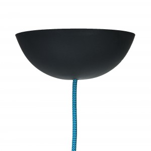 CableCup black ceiling rose