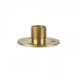 M10 mounting plate - brass