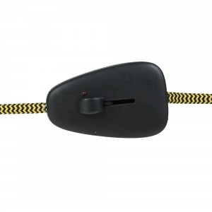 Black cord slide dimmer 40-160W
