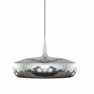 VITA 'Clava Dine' lampshade polished steel Light Essentials