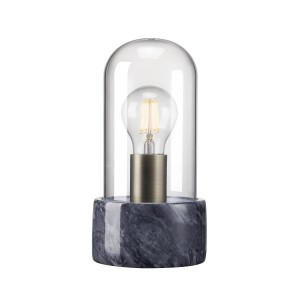 Nordlux 'Siv' table lamp black marble/glass Light Essentials
